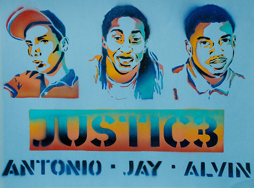 """Justic3"" by Milwaukee Artists for Racial Justice"