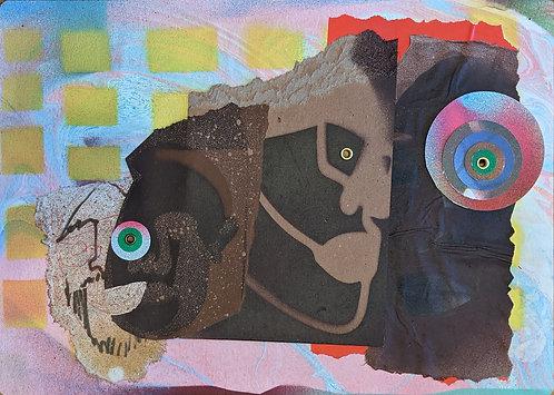 (SOLD) No. 6 by Anwar Floyd-Pruitt