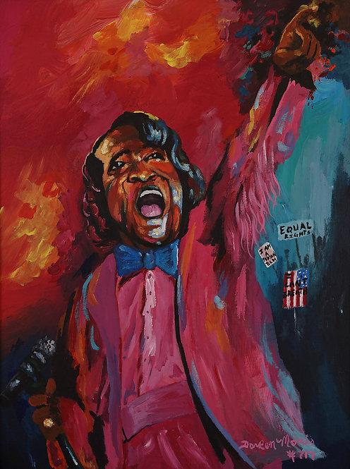 """Say it loud, I'm Black and I'm Proud (James Brown)"" by DarRen Morris"