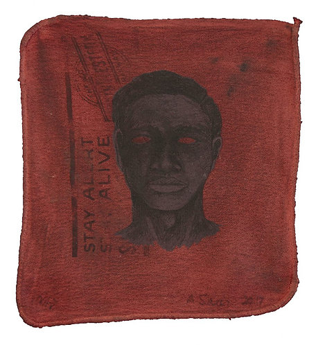 """""""Coal Black Blues"""" by Alison Saar"""