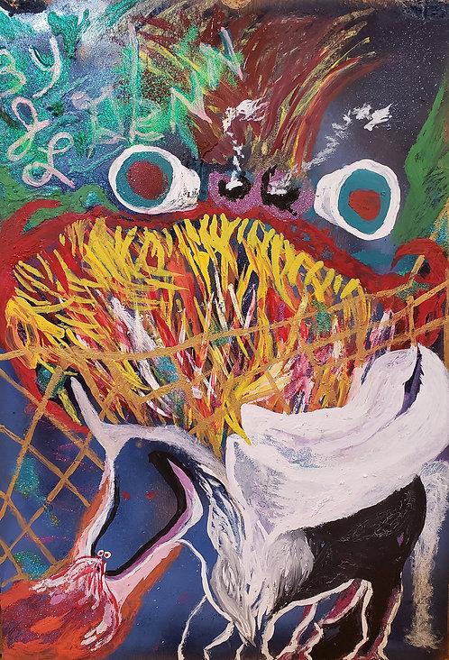 """Fireteeth Dragon"" by Jerome Glenn"