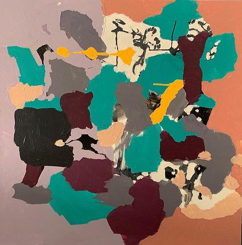 """""""Little Boy Black Paint What You Feel"""" By Femi J Johnson"""