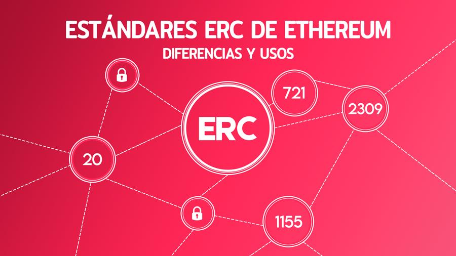 Estándares ERC de Ethereum: diferencias y usos