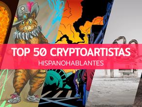 Top 50 cryptoartistas hispanohablantes