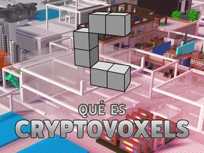 ¿Qué es Cryptovoxels?