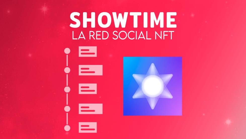Showtime: la red social NFT para criptoartistas