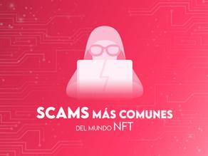 15 Scams más comunes del mundo NFT