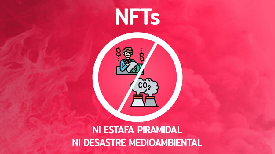 NFTs: Ni estafa piramidal ni desastre medioambiental