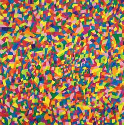 Field No.4 /crayon /73x73 /2016