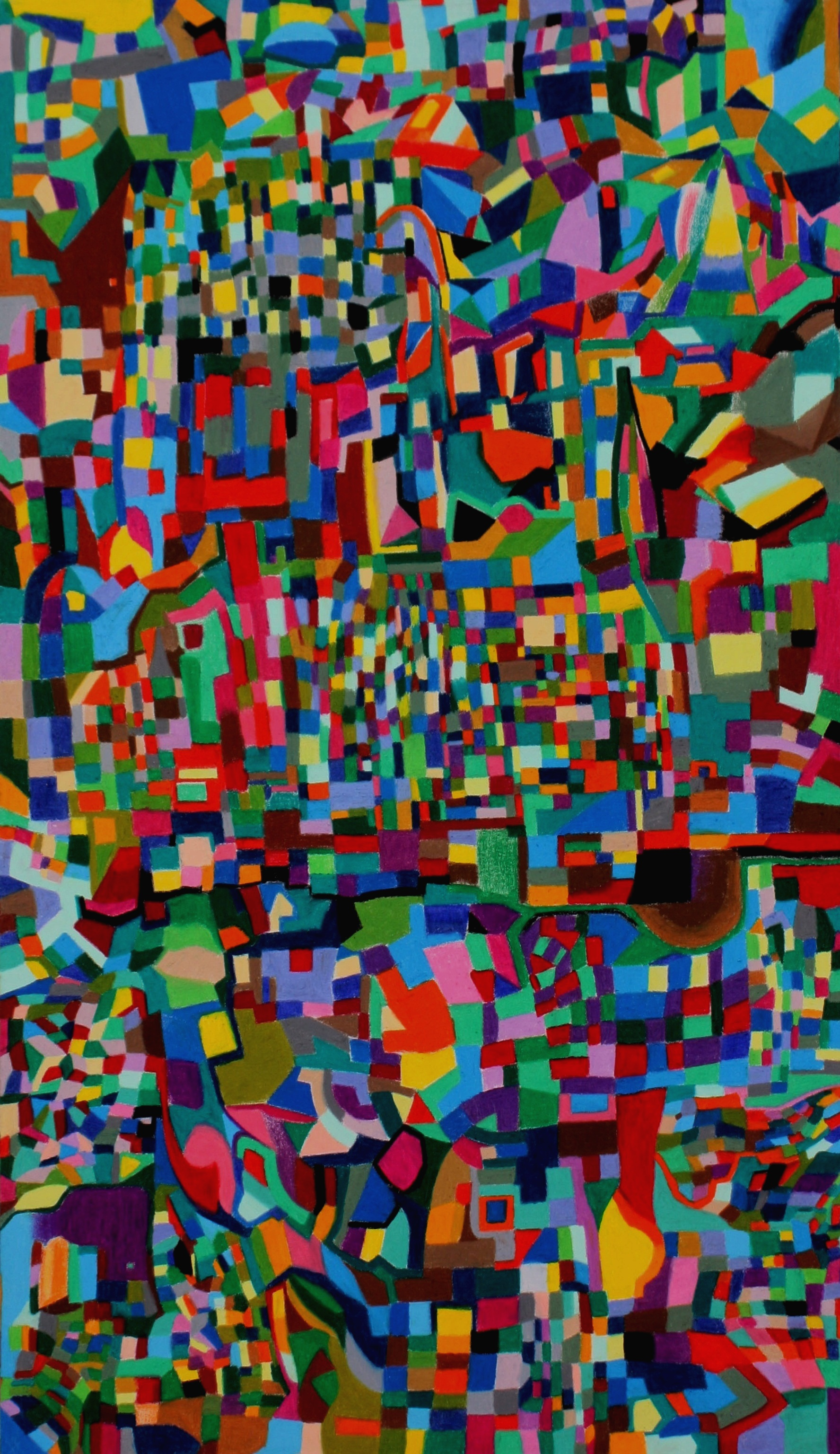 Field No.1 /crayon /194x97 /2014