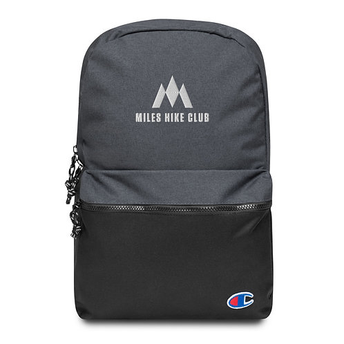 MHC x Champion Embroidered Backpack