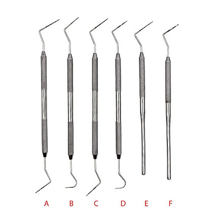 Stainless Steel Periodontal Probe With Scaler Explorer Instrument