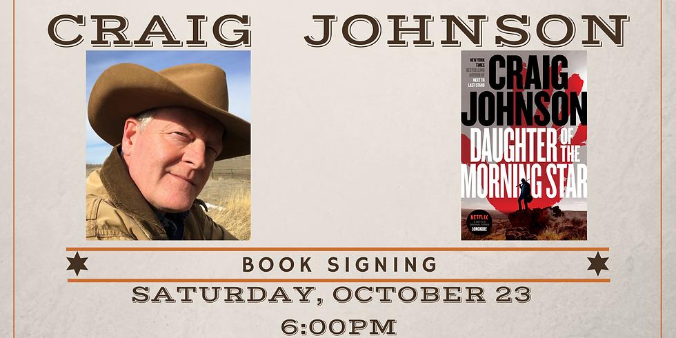 Craig Johnson Book Signing