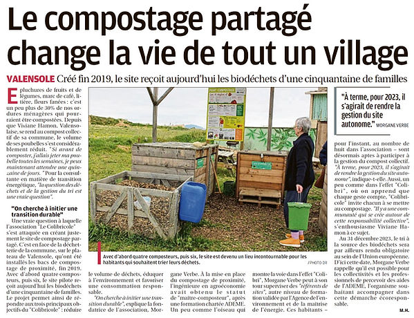 Article La Provence (18.04.2021) Valenso