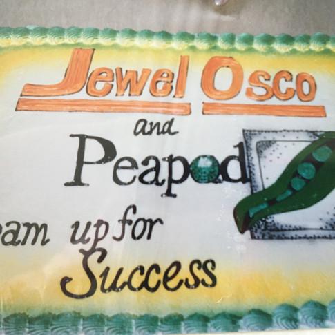 Jewel Osco Partnership with Peapod