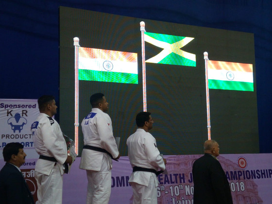 DAVIS SECURES FIRST COMMONWEALTH JUDO GOLD