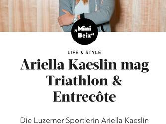 Merci beaucoup Ariella Kaeslin