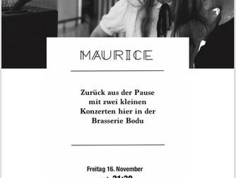 Concert ce soir - Maurice