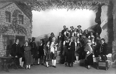 Operette im Jahr 1930 im Rössli