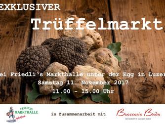 Trüffelmarkt bei Friedli's Markthalle