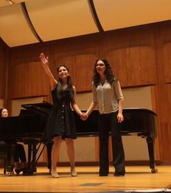 Masterclass with Sandra Piques Eddy, Mezzo Soprano