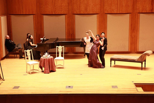 Longy Opera Theatre | Die Fledermaus by Johann Strauss II