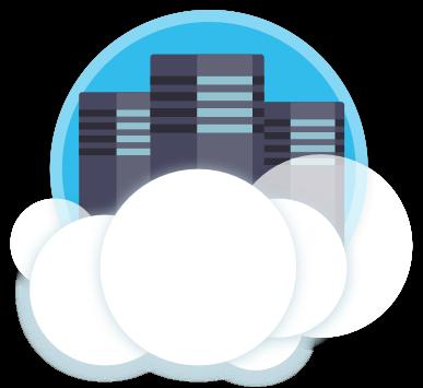 Imagem representativa da nuvem de computação