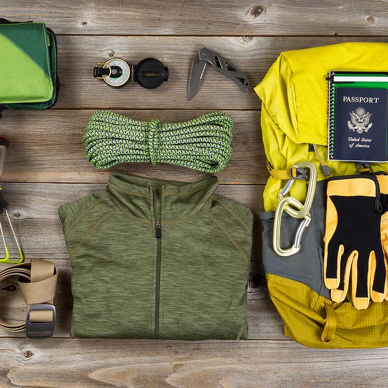 Outdoor Survival: Ten Essentials & Tarp Shelters