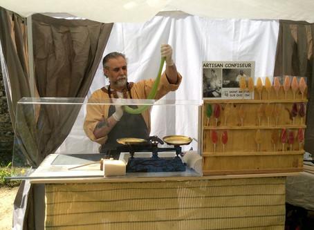 Fabrication des sucettes