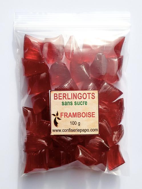 """BONBONS """"BERLINGOT"""" SANS SUCRE - Sachets 5 x 100g  (Fruit))"""
