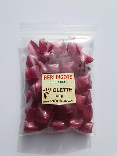 """BONBONS """"BERLINGOT"""" SANS SUCRE - Sachets 5 x 100g  (Fleurs/Plantes))"""