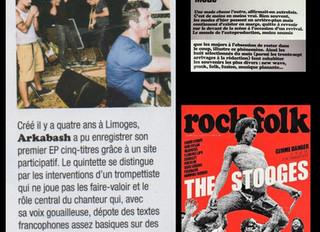 Arkabash - Chroniqué dans Rock & Folk !