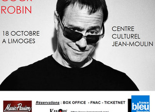 CONCERT COCK ROBIN à Limoges au Centre Culturel Jean-Moulin