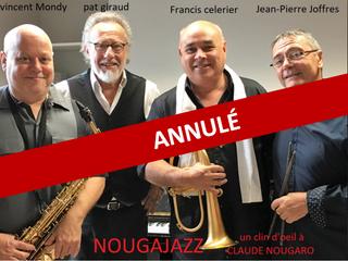 ! Annulé ! Nougajazz en concert le 20 novembre 2020