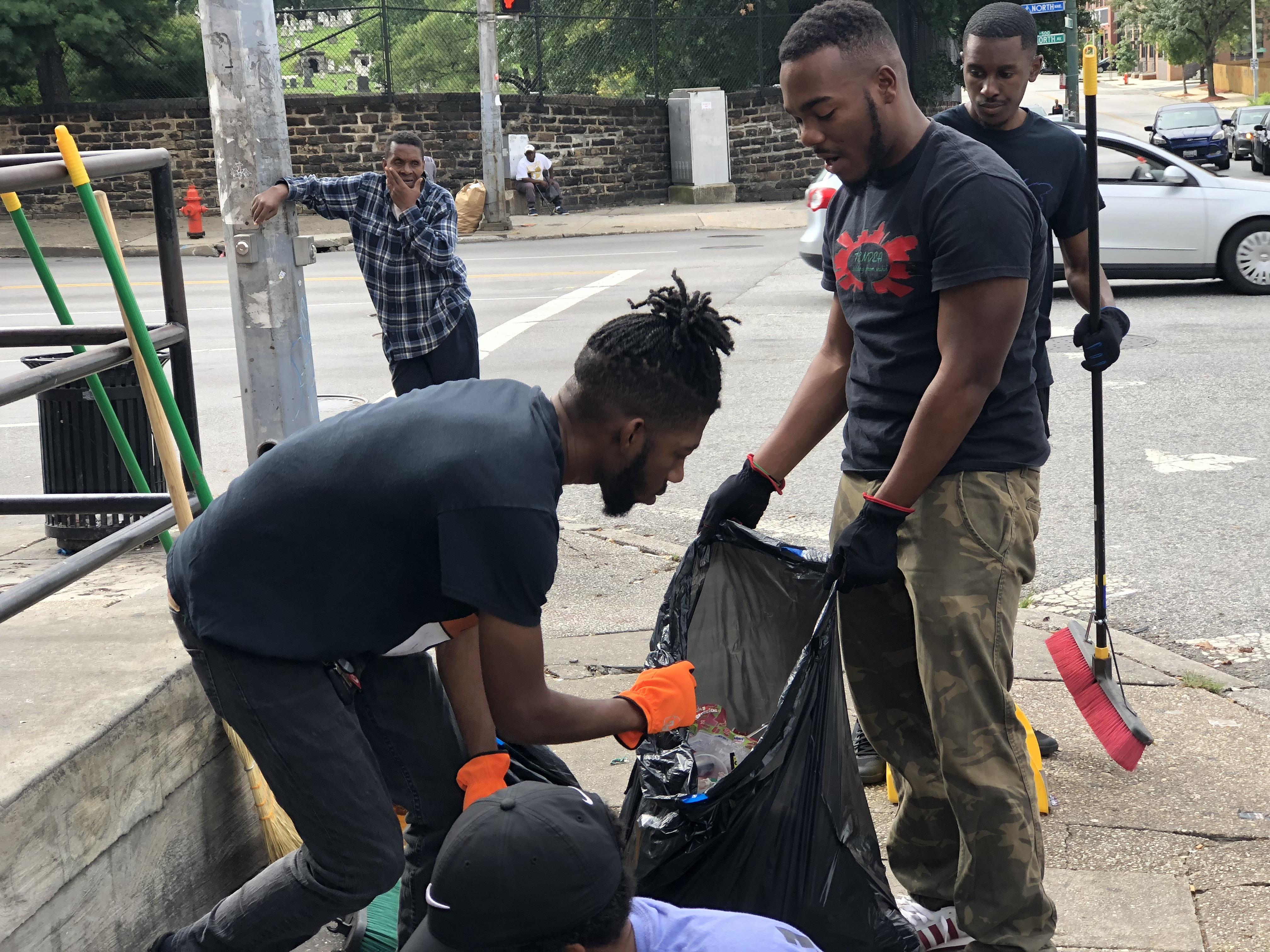Tendea's Community Clean Up