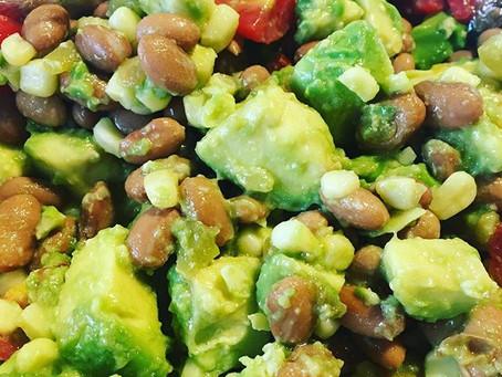 Avocado Bean Salad