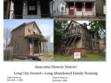 Demolition by Neglect | Holding DC Government Accountable