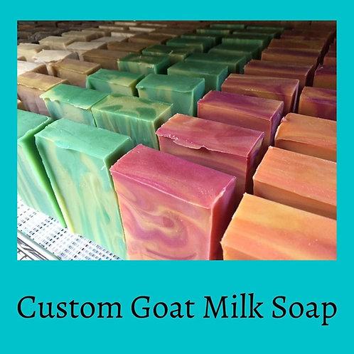 Custom Batch of Goat Milk Soap
