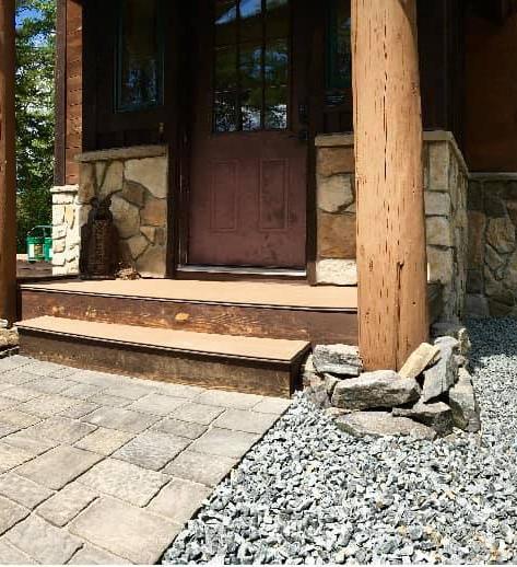 Walkway and Stone
