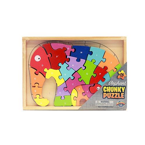 Chunky Elephant Puzzle