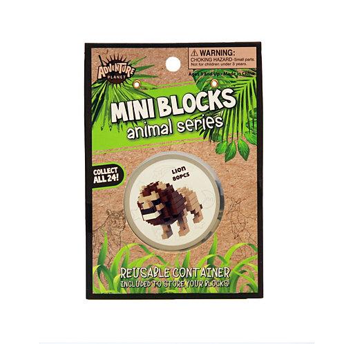 Mini Blocks Lion Puzzle