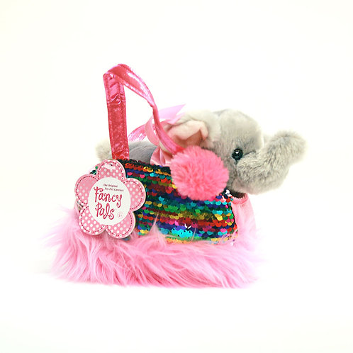 Shimmers Elephant Sequin Purse