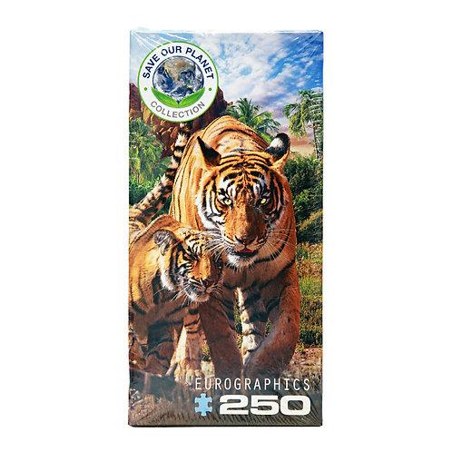 250-piece Tiger Puzzle