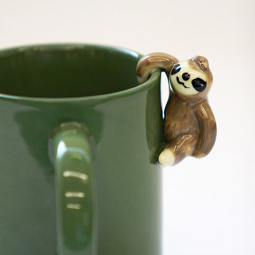 Hanging Sloth Figure Mug