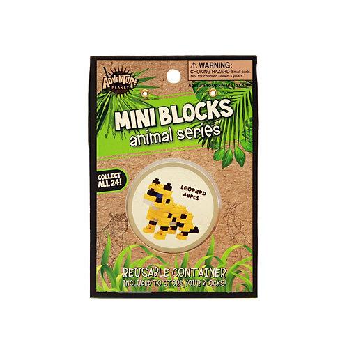 Mini Blocks Leopard Puzzle