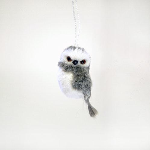 Fuzzy Owl Ornament