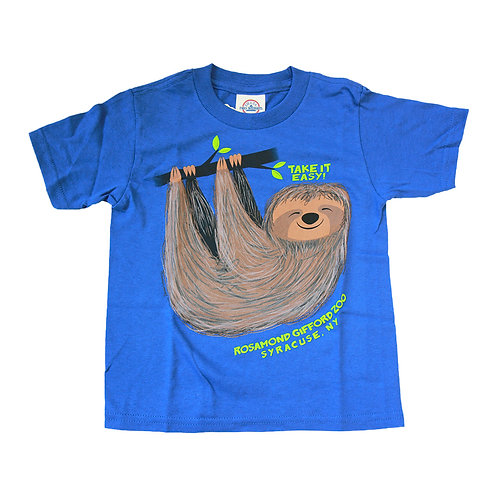 """""""Take it Easy"""" Sloth Toddler T-shirt"""