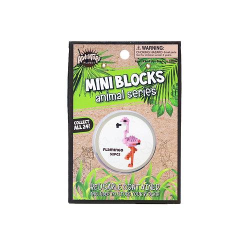 Mini Blocks Flamingo Puzzle