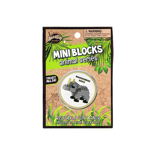 Mini Blocks Rhino Puzzle