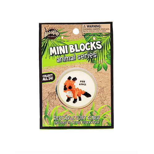 Mini Blocks Fox Puzzle